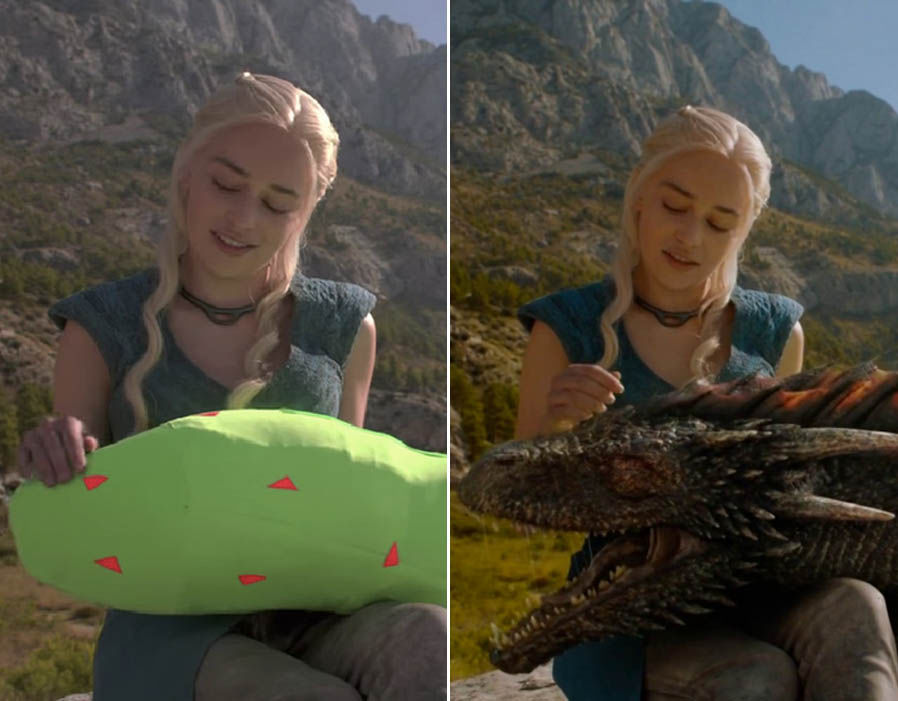 Antes e Depois dos efeitos especiais CGI em 30 grandes produções!