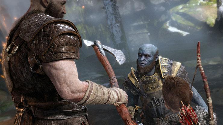 Kratos não pula em God of War por causa do novo ângulo de câmera