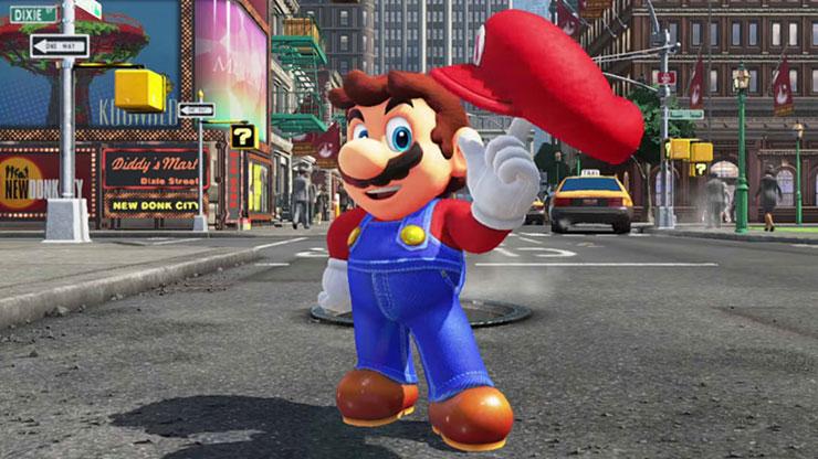 Nos EUA, mais de 60% dos donos de Switch possuem Super Mario Odyssey