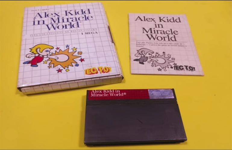 Segura essa nostalgia! Confira 62 jogos em caixa de papelão do Master System!