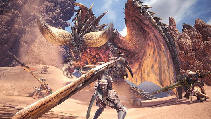 Monster Hunter: World bate recorde com 5 milhões de cópias enviadas às lojas