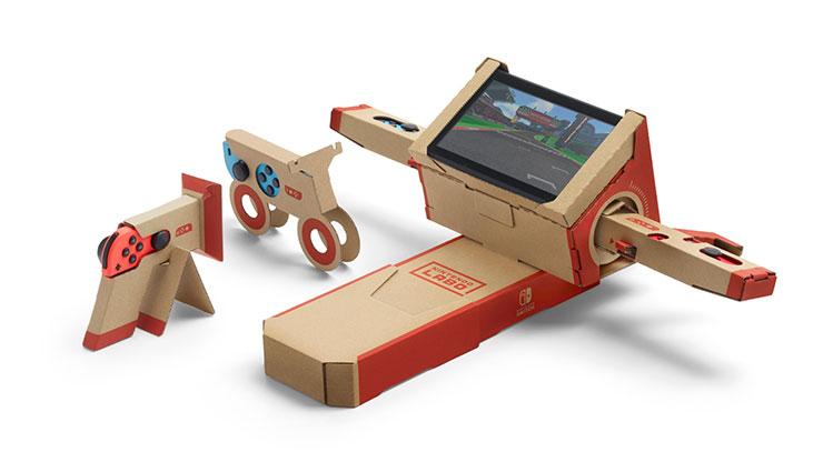 Valor da Nintendo sobe US$ 1,4 bi após anúncio dos brinquedos de papelão