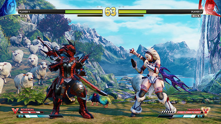 Street Fighter V ganhará trajes baseados em Monster Hunter: World