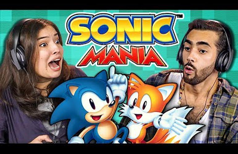 """Veja a reação de adultos jogando """"Sonic Mania"""" pela primeira vez!"""