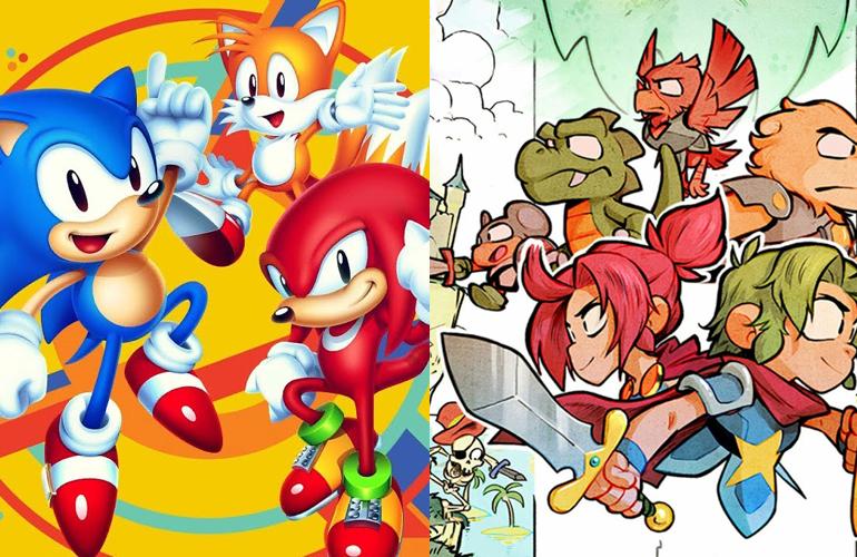Clássicos da SEGA estão entre os mais vendidos para Nintendo Switch na Europa!