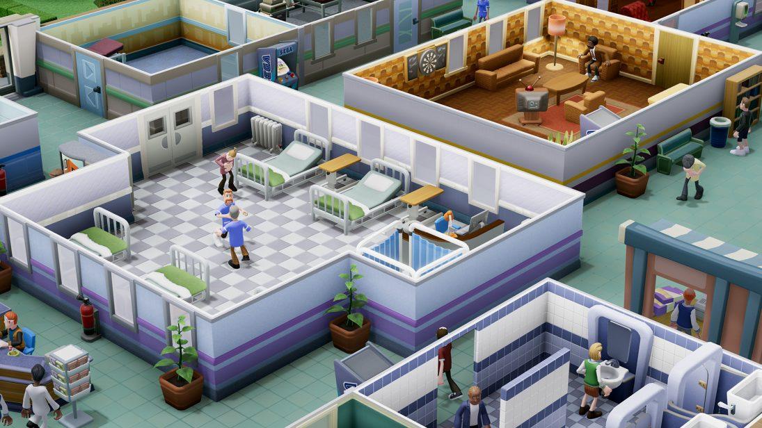 """Sega e Two Point Studios anunciam novo sim game """"Two Point Hospital"""""""