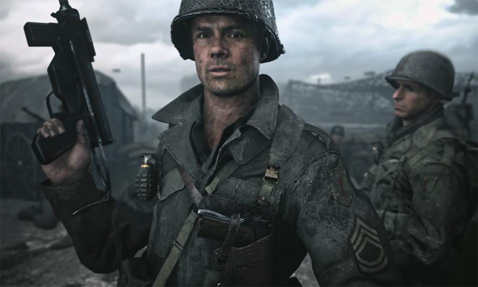 Jogador chega no nível máximo de Call of Duty: WWII sem usar armas de fogo
