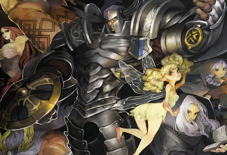 Dragons Crown PRO - KeyArt Index