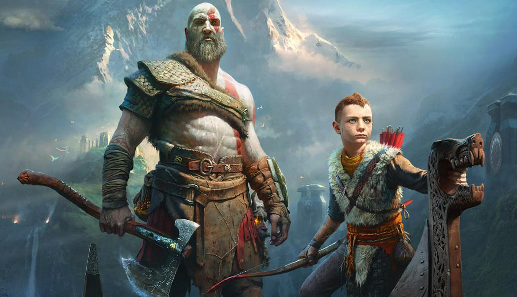God of War - Kratos e Atreus 03