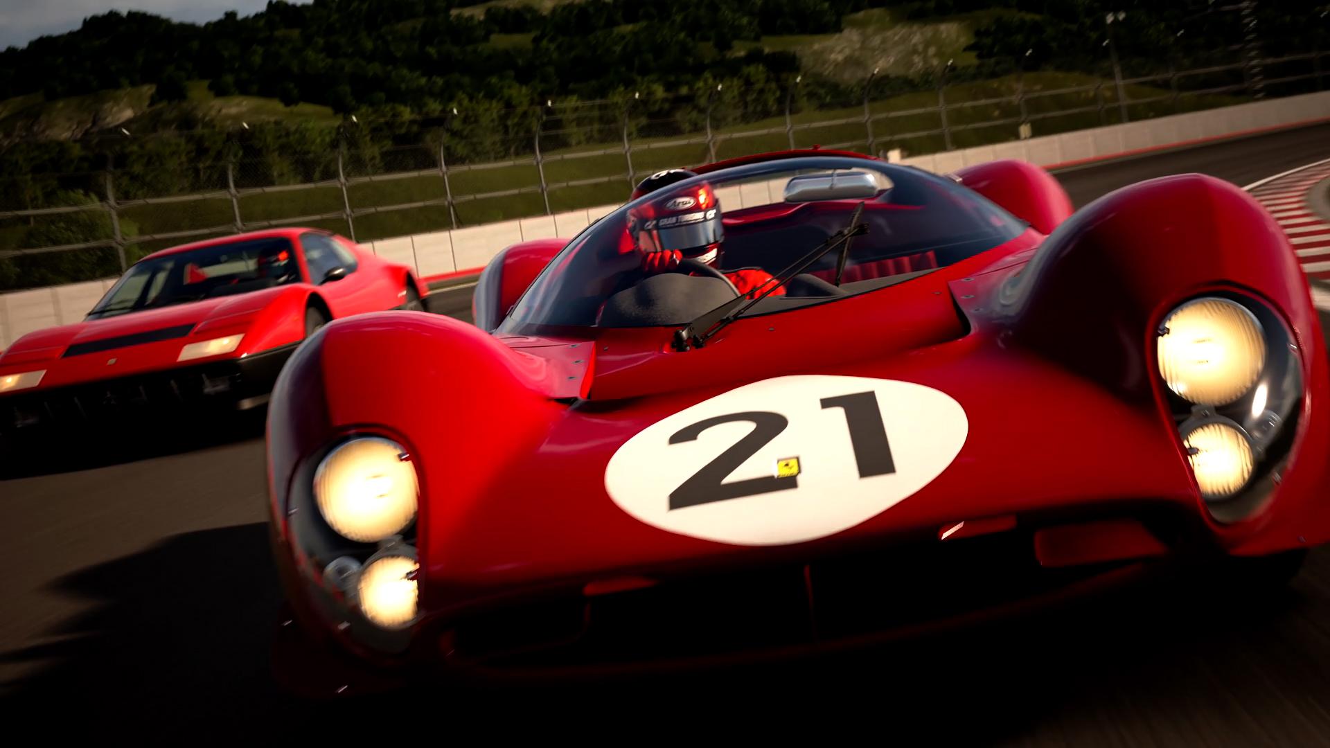 Gran Turismo Sport - Carros Vermelhos