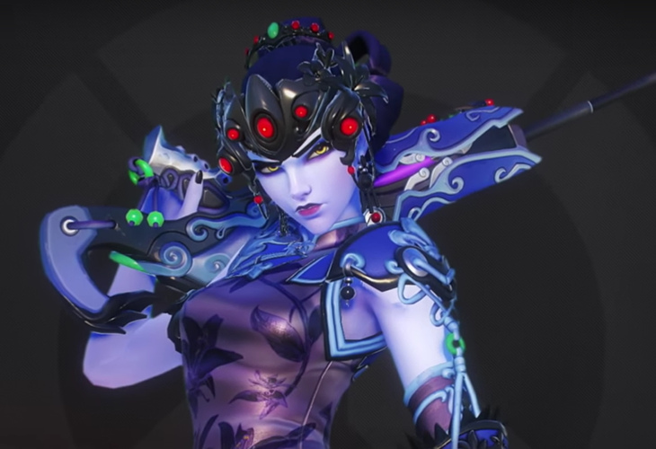 Overwatch - Widowmaker Novas Skins