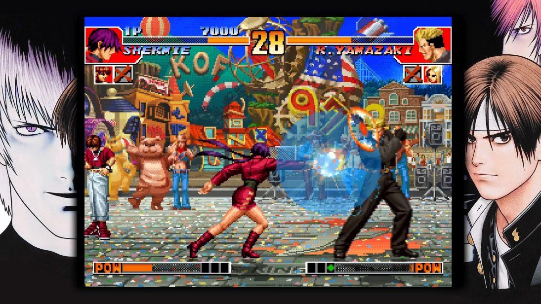 The King of Fighters '97 Global Match será lançado em abril