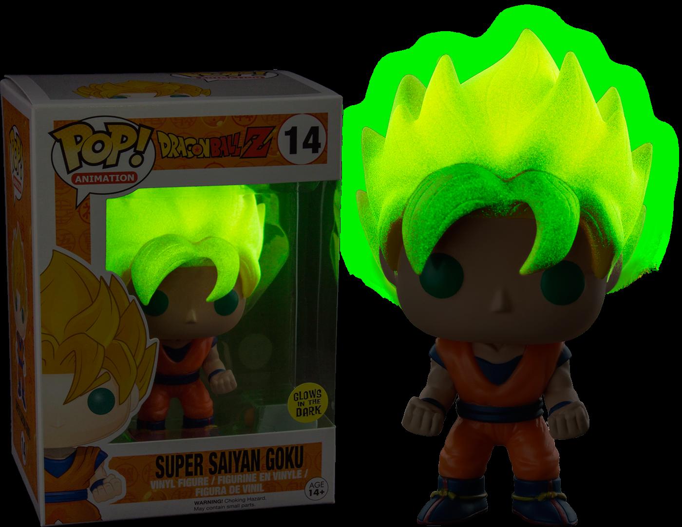 Funko Pop relançará boneco de Goku Super Sayajin que brilha no escuro!