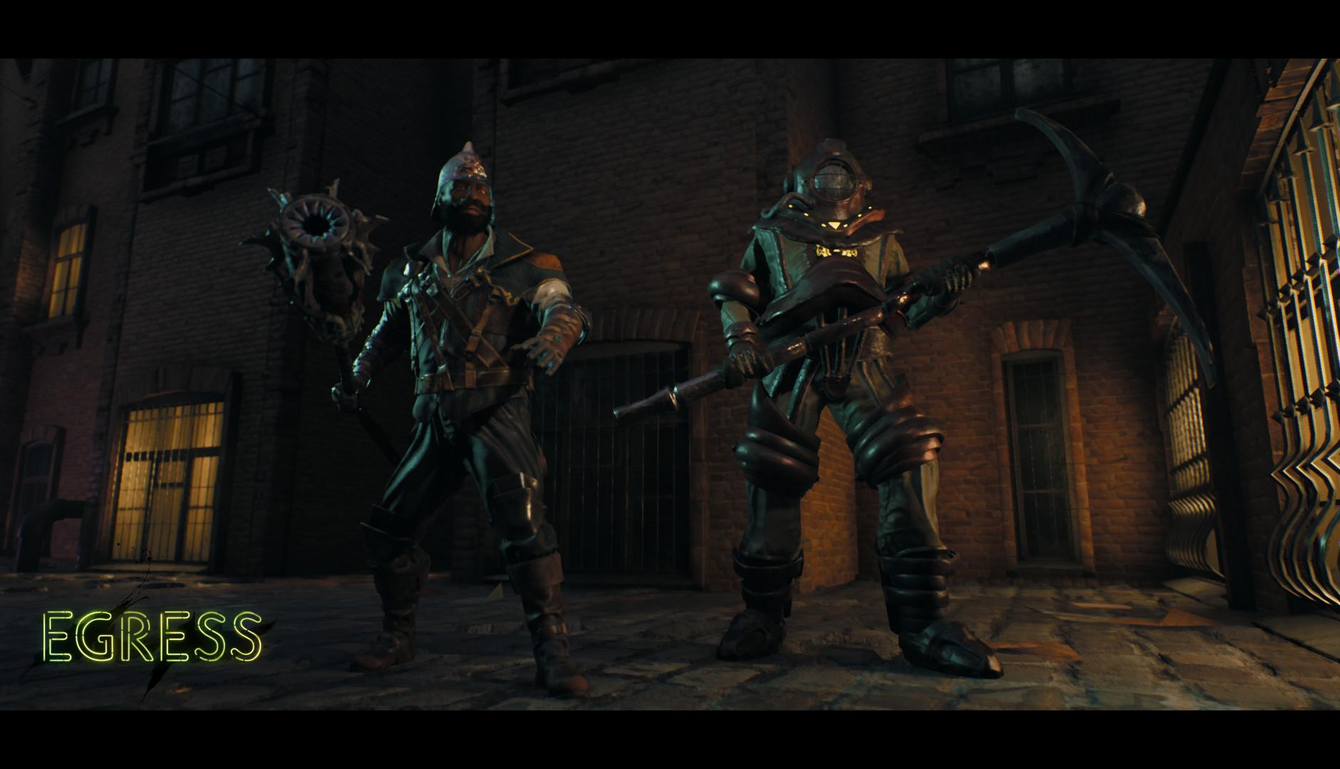 Egress promete ser Battle Royale com combate estilo Souls para PS4, Xbox One e PC