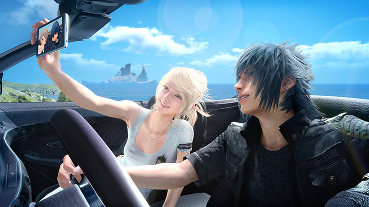 Final Fantasy XV recebe imagens em comemoração ao Dia dos Namorados