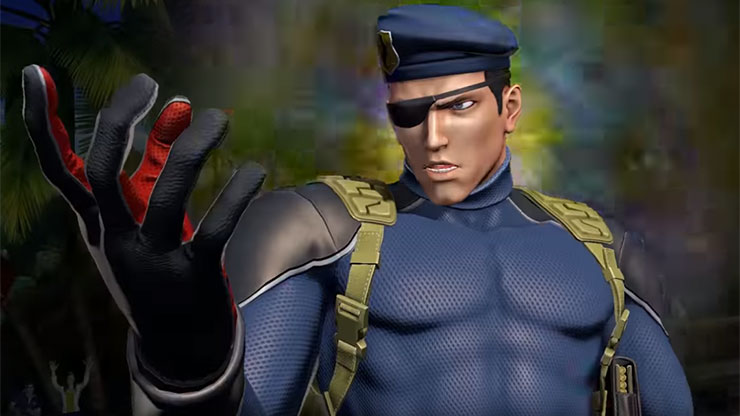 Heidern será incluído em The King of Fighters XIV