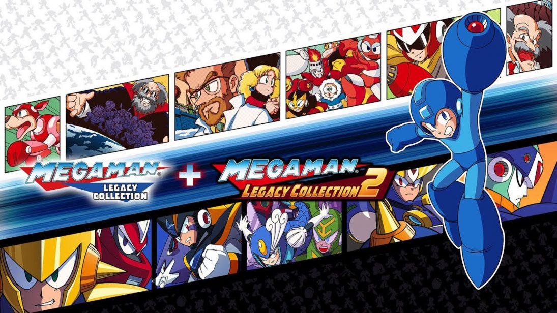 Mega Man Legacy Collection 1 + 2 chega no dia 22 de maio para Switch