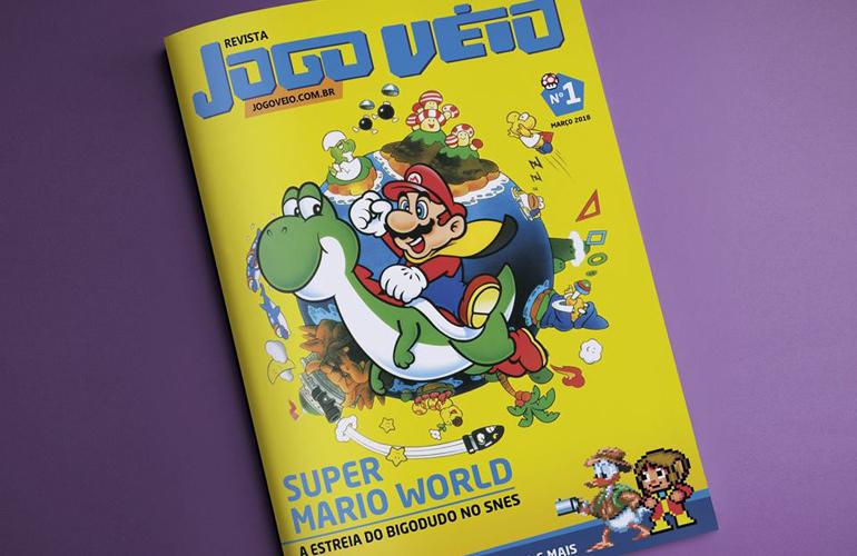 Revista Jogo Véio anuncia sua primeira edição impressa