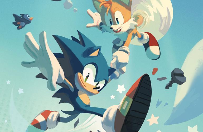 Roteirista fala mais detalhes de nova HQ de Sonic que chega em abril