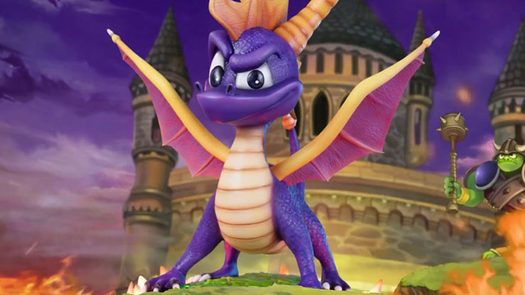 Remaster da trilogia Spyro the Dragon chega no 3º trimestre para PS4, diz site