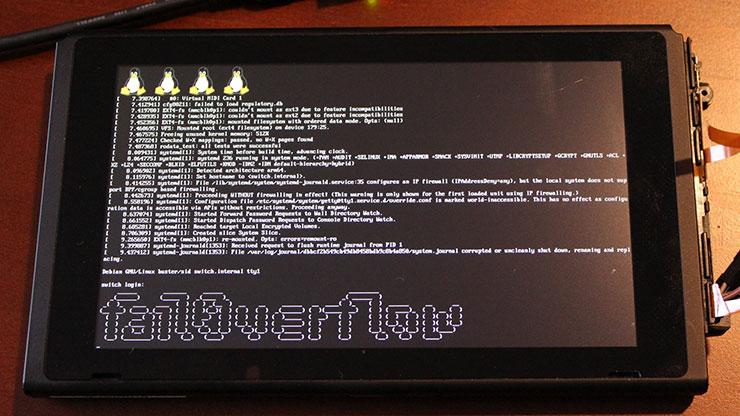 Hackers conseguem fazer Linux rodar no Switch