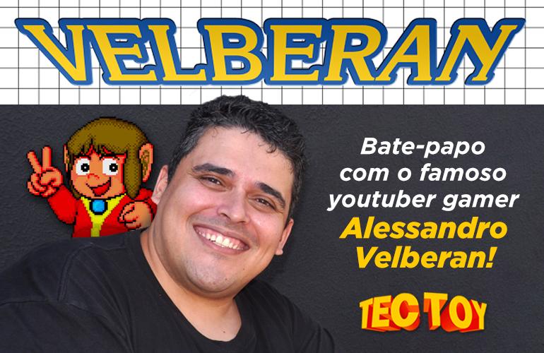 Entrevista exclusiva com o Youtuber Velberan!