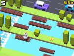 Gosta do clássico Frogger? Jogue agora Crossy Road!