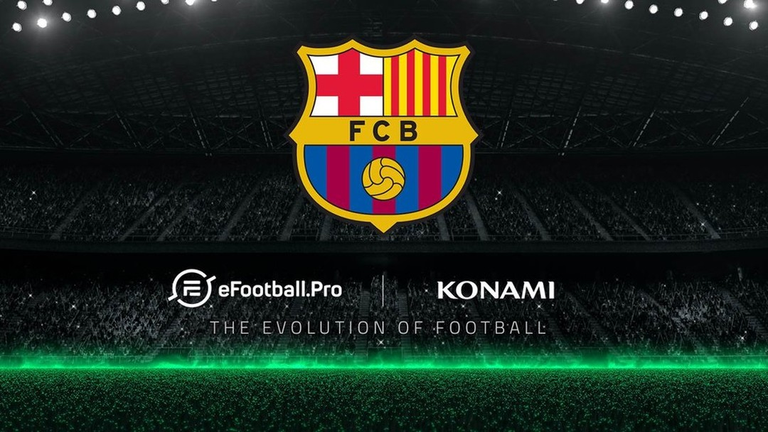 Barcelona entra para os esports em torneio da Konami e da eFootball