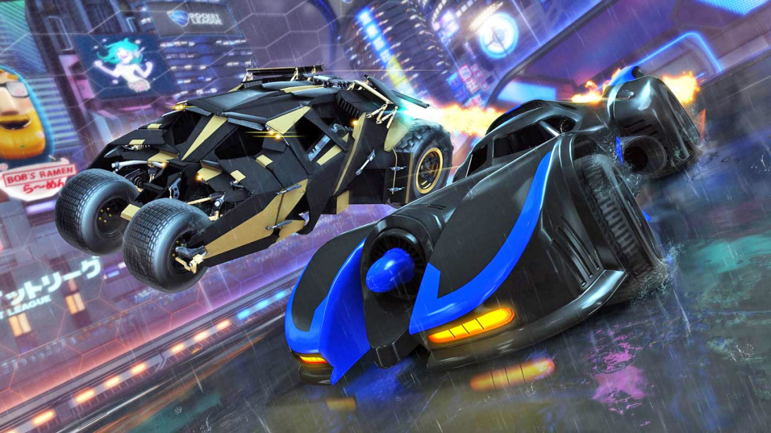DC se junta a Rocket League em nova DLC do game