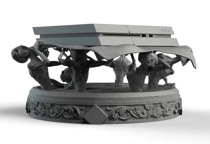 Jogador cria suporte de PS4 temático de Bloodborne