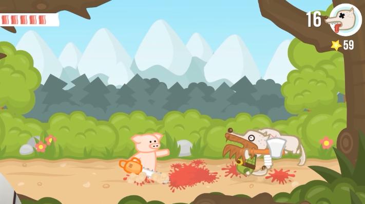 Conheça Iron Snout, jogo do porquinho bom de briga onde você usa apenas uma mão