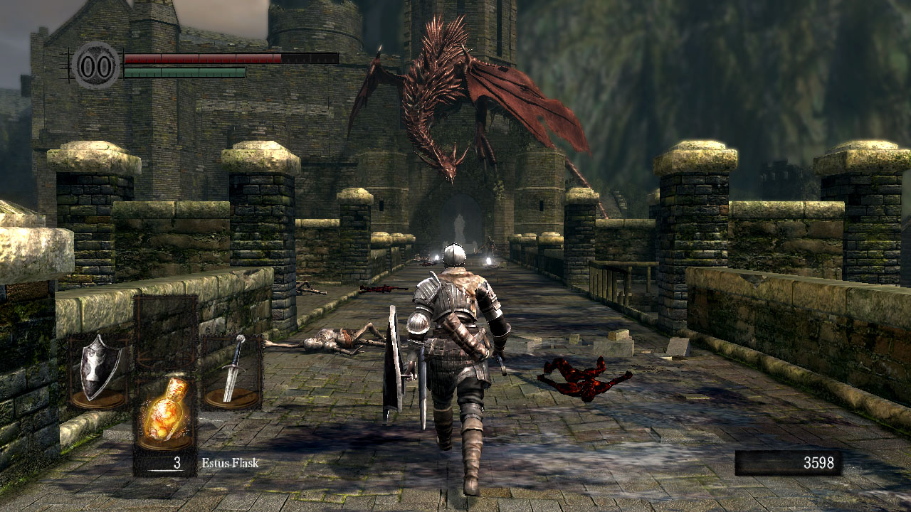 Dark Souls - Ponte do Dragão