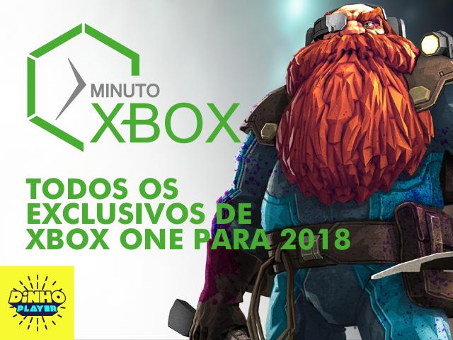 Todos os Exclusivos de Xbox One em 2018