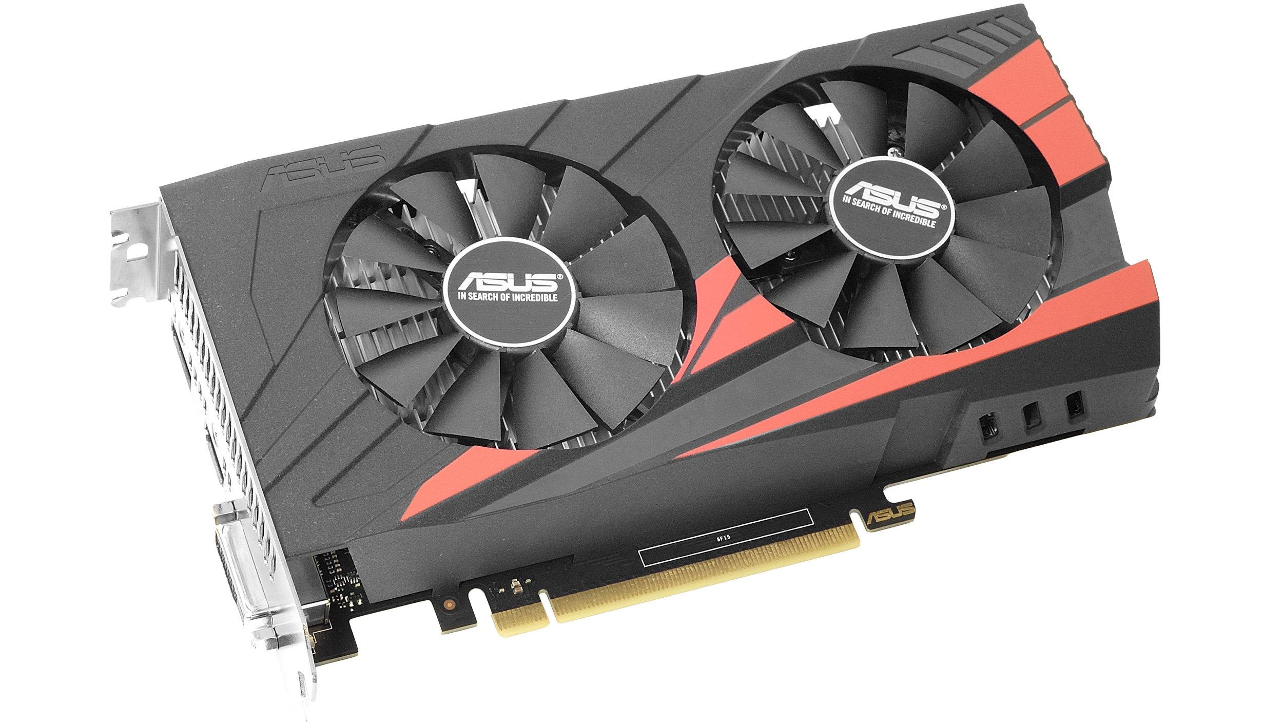Geforce GTX 1050 Ti - Asus