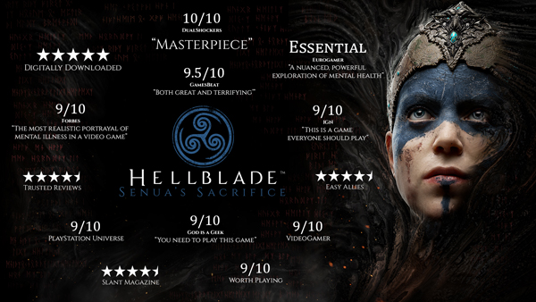 Hellblade: Senua's Sacrifice é confirmado para Xbox One ainda este semestre