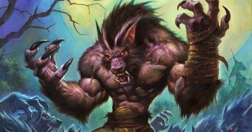 Hearthstone - Raging Worgen