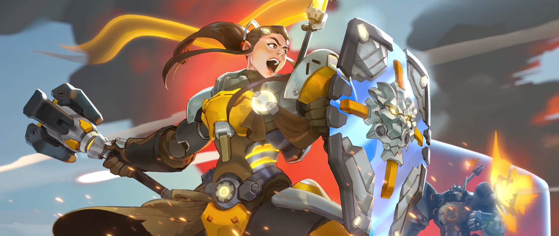 Overwatch - Brigitte Lindholm - Animation Art Official