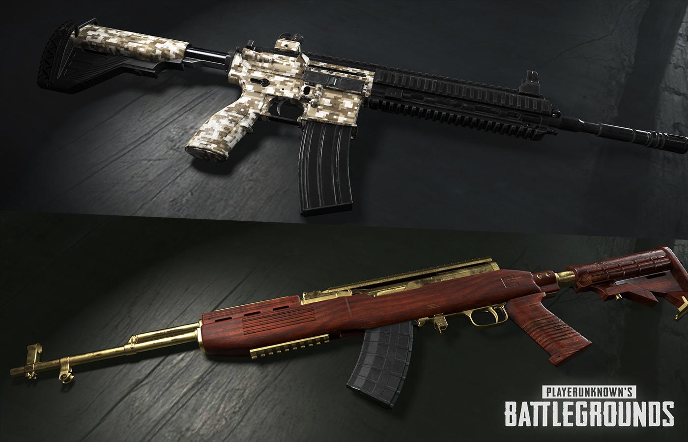 PUBG Skin de Armas