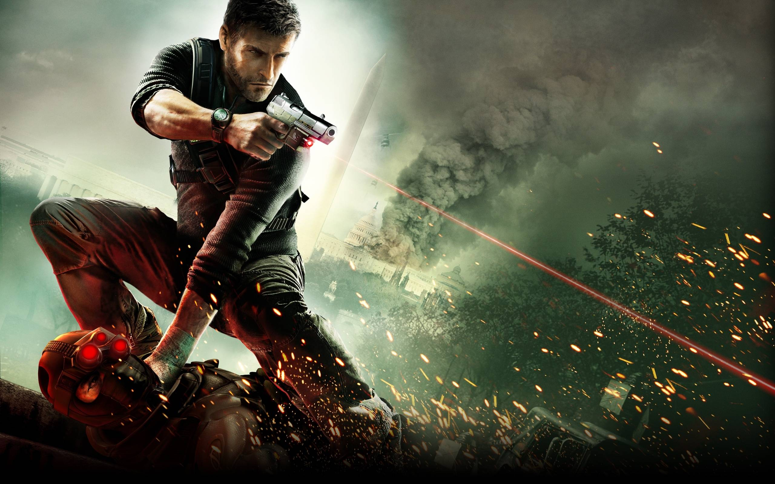 Splinter Cell Conviction - Imagem KeyArt