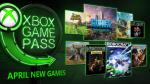 Microsoft divulga lista completa dos jogos do Xbox Game Pass de abril