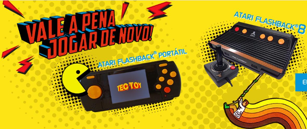Tectoy anuncia dois novos modelos do Atari Flashback