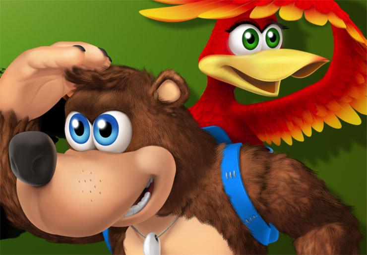 Phil Spencer diz que gostaria de ver Banjo e Kazooie no novo Smash Bros
