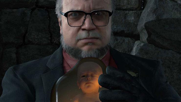 Kojima compartilha nova imagem de Guillermo del Toro em Death Stranding