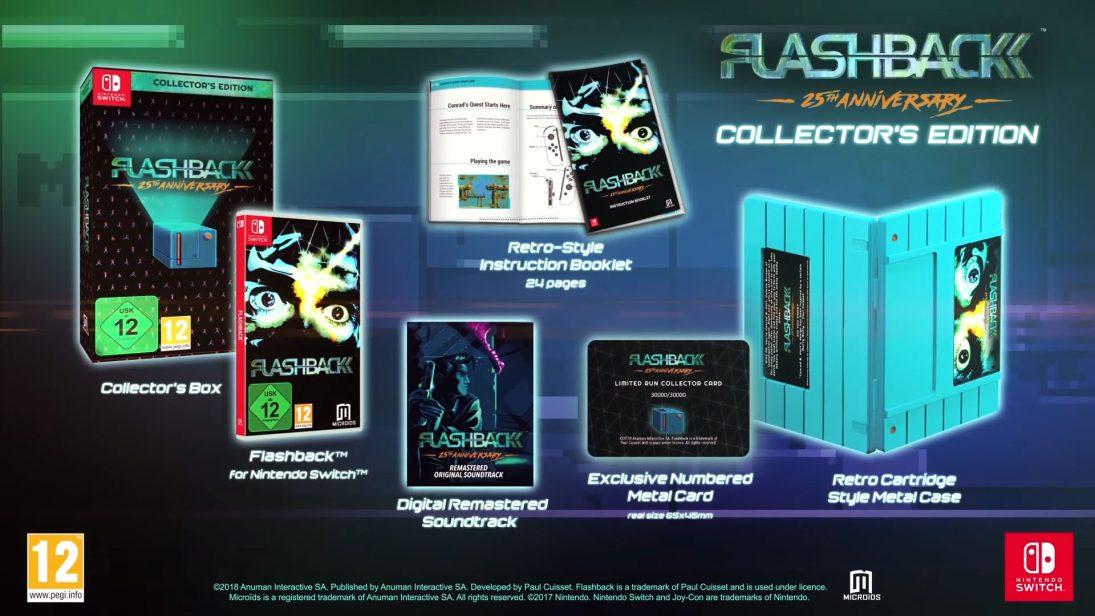 Clássico Flashback ganhará edição comemorativa no Switch