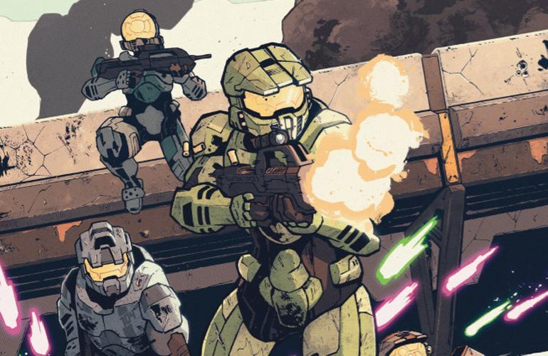 """Anunciada nova minissérie em HQ """"Halo: Collateral Damage"""""""