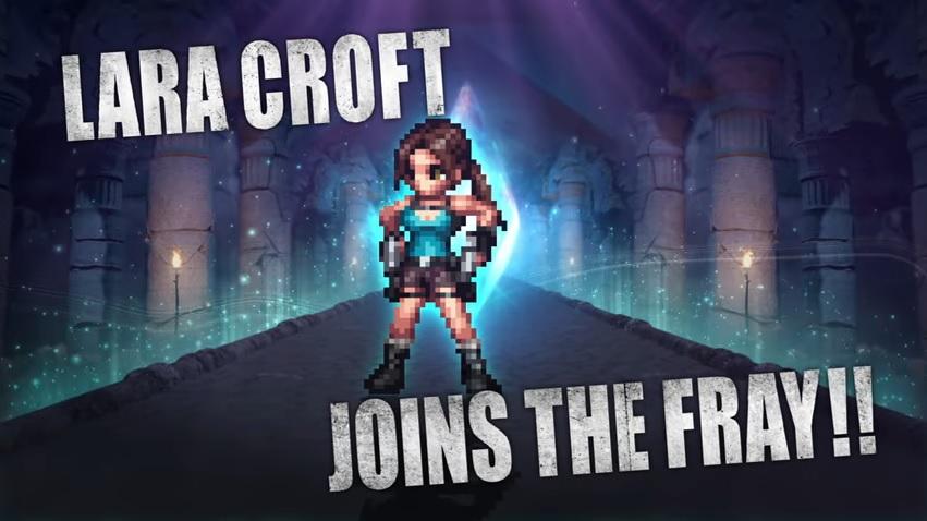 'Final Fantasy Brave Exvius' terá Lara Croft em evento especial