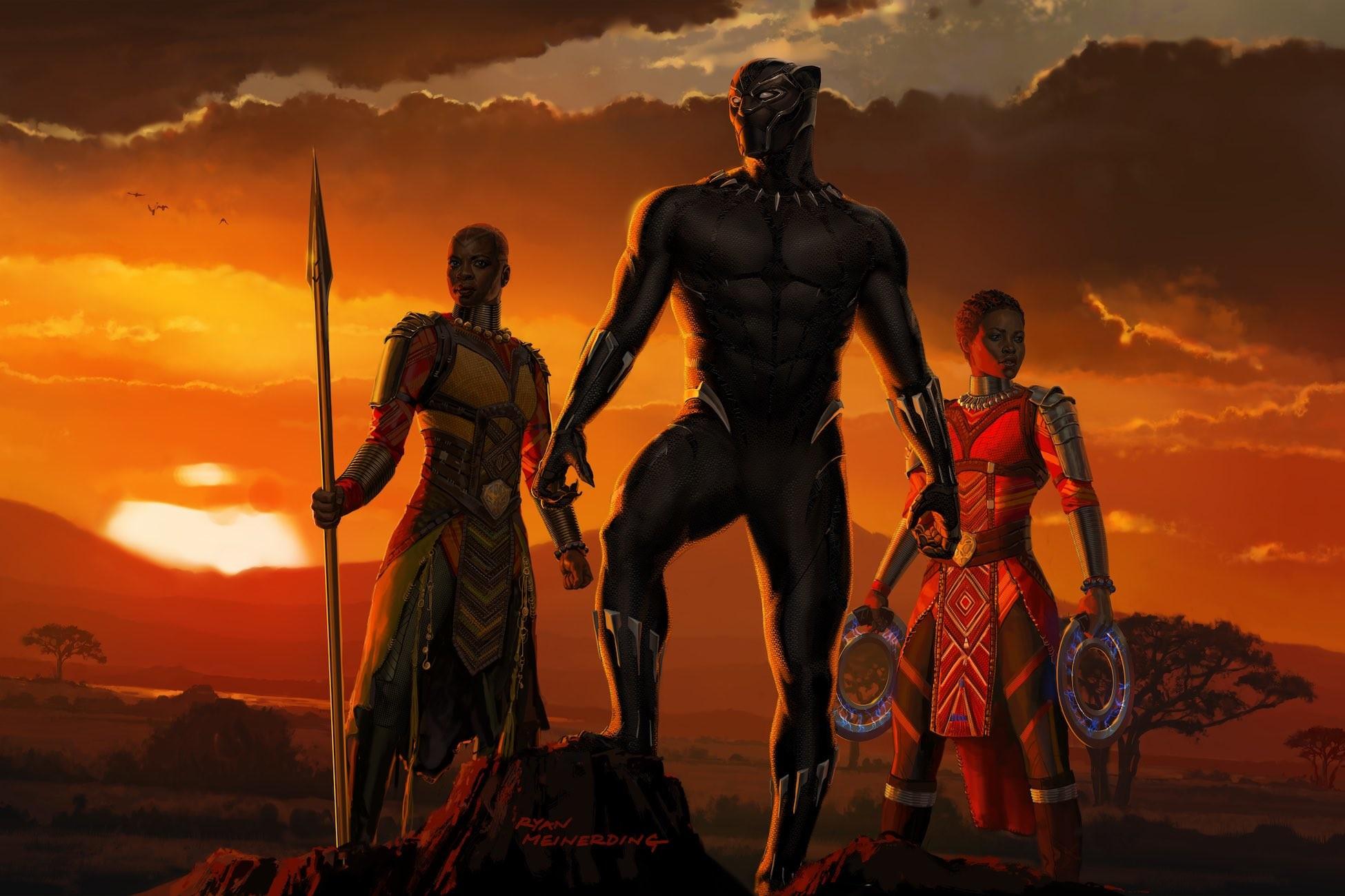 Pantera Negra - Filme ultrapassa US$ 1 bilhão nas bilheterias