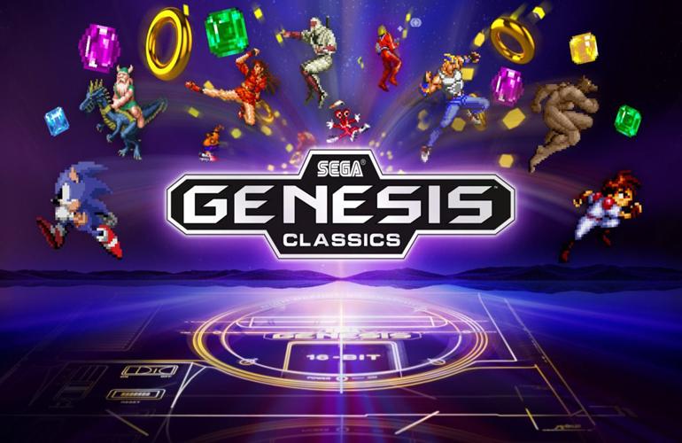 Nova coletânea que reúne clássicos do Mega Drive chegará em breve no PS4, Xbox One e PC