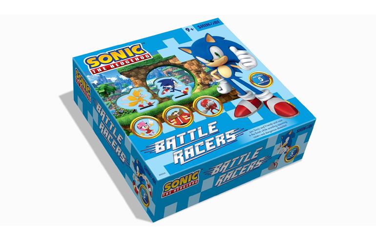 Jogo de tabuleiro do Sonic chega em outubro de 2018