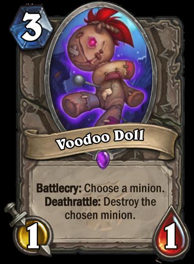 Hearthstone - Voodoo Doll
